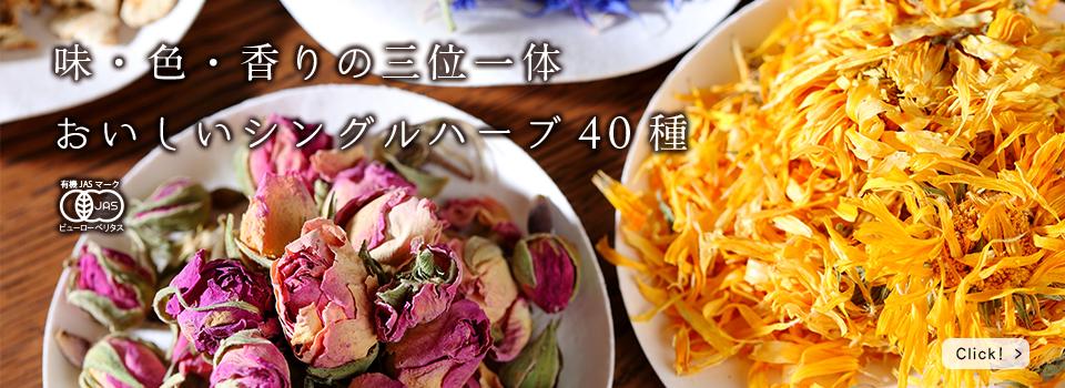 「オーガニックの本当の良さを」 味・色・香りの三位一体、有機農法・無農薬ハーブ、そのおいしさの訳