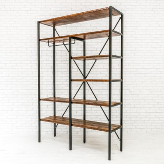 Iron Hanger Shelf