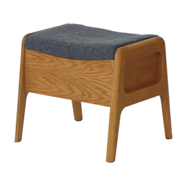 ISSEIKI ROCCO BOX STOOL (OAK-DGY)