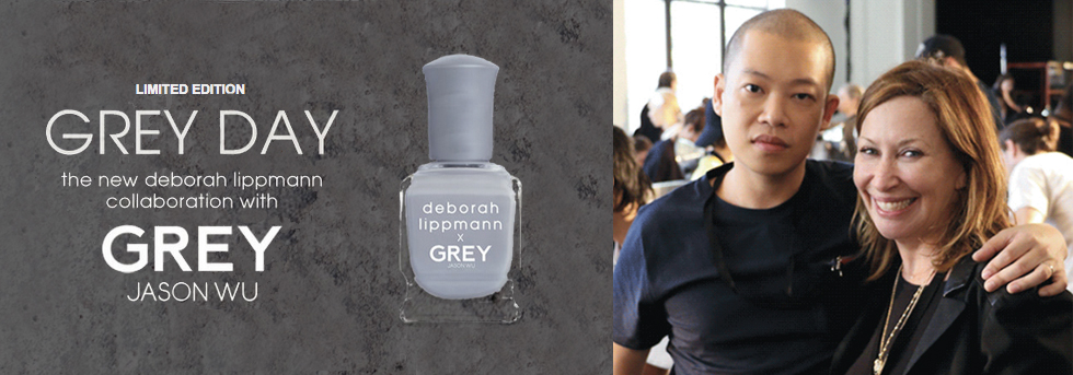 GREY DAY deborah lippmann x JASON WU
