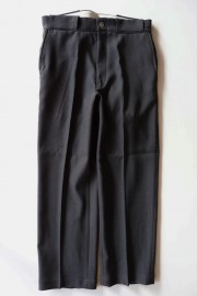 ANACHRONORM/CENTER PRESS STRAIGHT PANTS